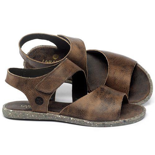 Laranja_Lima_Shoes_Sapatos_Femininos_Sandalia_Rasteira_Flat_em_Couro_Marrom_-_Codigo_-_137308_1