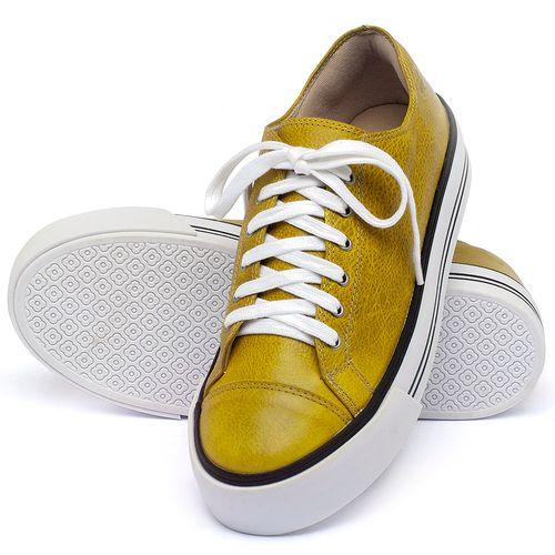 Laranja_Lima_Shoes_Sapatos_Femininos_Tenis_Cano_Baixo_em_Couro_Amarelo_-_Codigo_-_9446_2