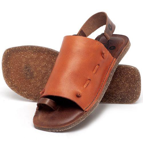 Laranja_Lima_Shoes_Sapatos_Femininos_Sandalia_Rasteira_Flat_em_Couro_Laranja_-_Codigo_-_141154_2