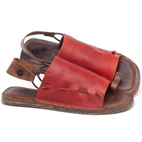 Laranja_Lima_Shoes_Sapatos_Femininos_Sandalia_Rasteira_Flat_em_Couro_Vermelho_-_Codigo_-_141154_1