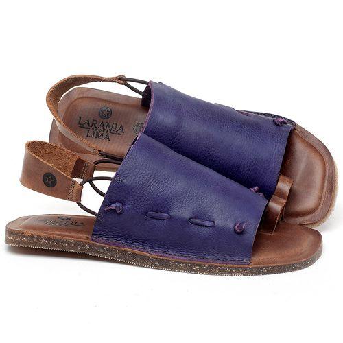 Laranja_Lima_Shoes_Sapatos_Femininos_Sandalia_Rasteira_Flat_em_Couro_Roxo_-_Codigo_-_141154_1