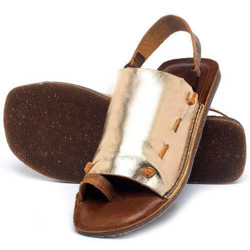 Laranja_Lima_Shoes_Sapatos_Femininos_Sandalia_Rasteira_Flat_em_Couro_Metalizado_-_Codigo_-_141154_2