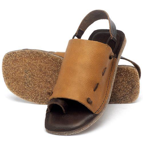 Laranja_Lima_Shoes_Sapatos_Femininos_Sandalia_Rasteira_Flat_em_Couro_Amarelo_-_Codigo_-_141154_2
