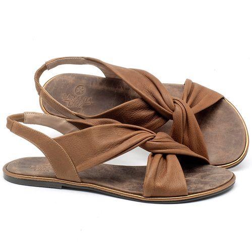 Laranja_Lima_Shoes_Sapatos_Femininos_Sandalia_Rasteira_Flat_em_Couro_Caramelo_-_Codigo_-_3654_1