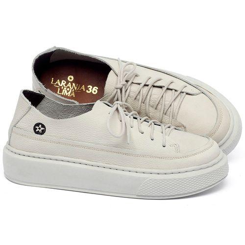 Laranja_Lima_Shoes_Sapatos_Femininos_Tenis_Cano_Baixo_em_Couro_Off-White_-_Codigo_-_137282_1