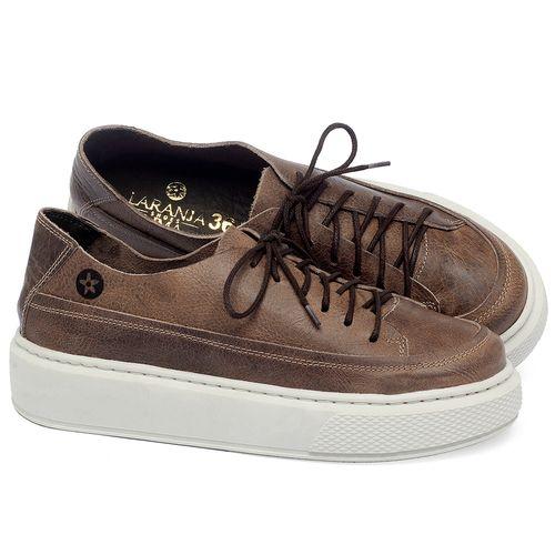 Laranja_Lima_Shoes_Sapatos_Femininos_Tenis_Cano_Baixo_em_Couro_Marrom_-_Codigo_-_137282_1