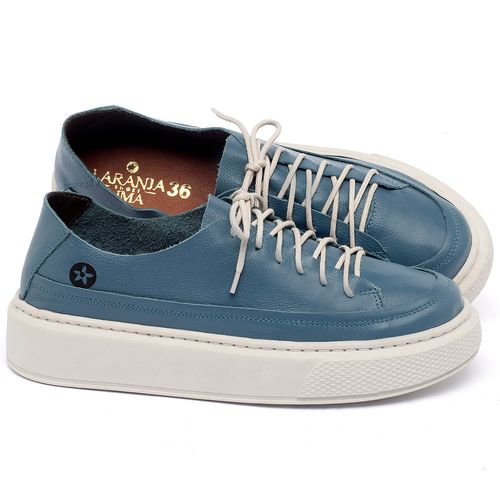 Laranja_Lima_Shoes_Sapatos_Femininos_Tenis_Cano_Baixo_em_Couro_Azul_-_Codigo_-_137282_1