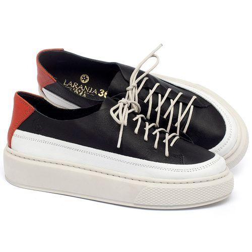 Laranja_Lima_Shoes_Sapatos_Femininos_Tenis_Cano_Baixo_em_Couro_P_-_B_-_Codigo_-_137282_1