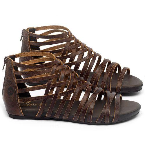 Laranja_Lima_Shoes_Sapatos_Femininos_Sandalia_Rasteira_Flat_em_Couro_Marrom_-_Codigo_-_137188_1