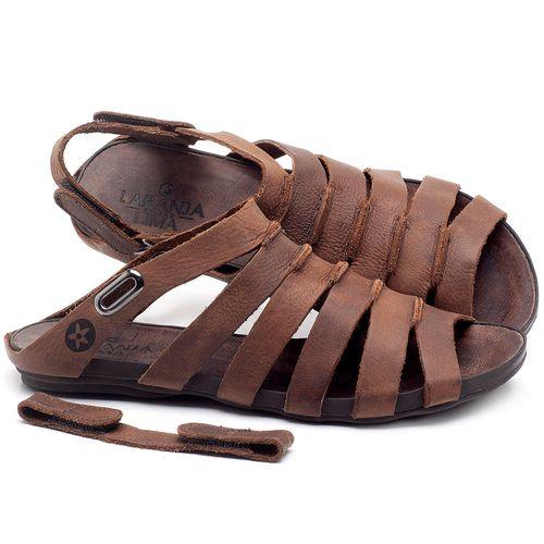 Laranja_Lima_Shoes_Sapatos_Femininos_Sandalia_Rasteira_Flat_em_Couro_Marrom_-_Codigo_-_1