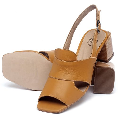Laranja_Lima_Shoes_Sapatos_Femininos_Sandalia_Laranja_Lima_Shoes_Classic_em_Couro_Amarelo_-_Codigo_-_9492_2