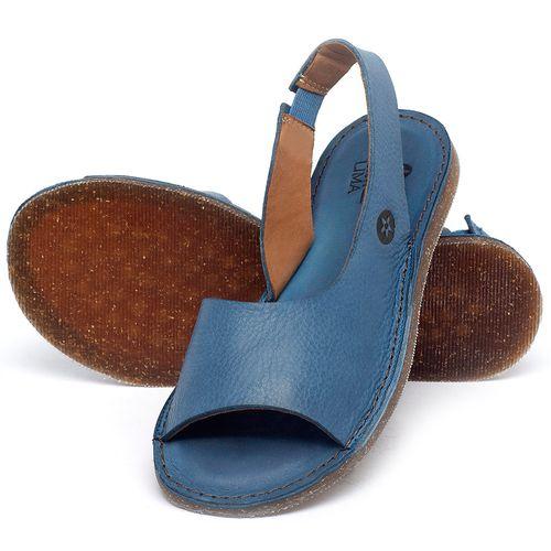Laranja_Lima_Shoes_Sapatos_Femininos_Sandalia_Rasteira_Flat_em_Couro_Azul_-_Codigo_-_141163_2