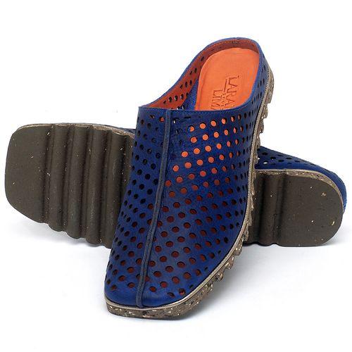 Laranja_Lima_Shoes_Sapatos_Femininos_Sapatilha_Bico_Quadrado_em_Couro_Azul_-_Codigo_-_145056_2