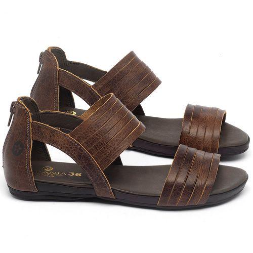 Laranja_Lima_Shoes_Sapatos_Femininos_Sandalia_Rasteira_Flat_em_Couro_Marrom_-_Codigo_-_137290_1