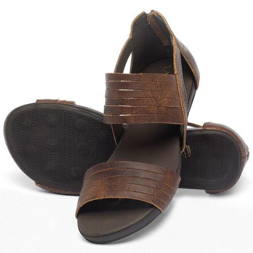 Laranja_Lima_Shoes_Sapatos_Femininos_Sandalia_Rasteira_Flat_em_Couro_Marrom_-_Codigo_-_137290_2