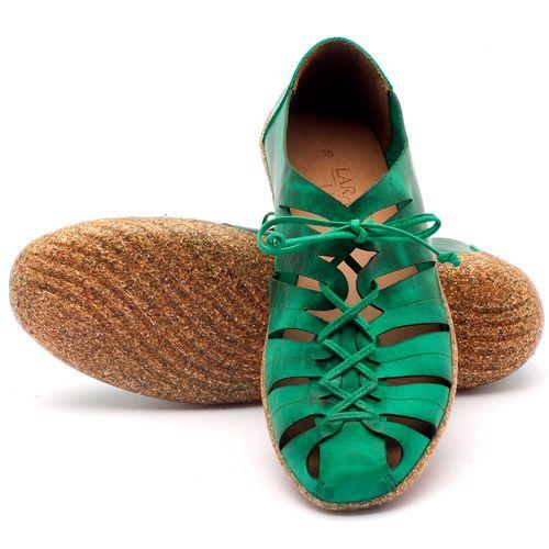 Laranja_Lima_Shoes_Sapatos_Femininos_Tenis_Cano_Baixo_em_Couro_Verde_-_Codigo_-_145009_1