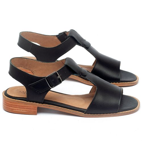 Laranja_Lima_Shoes_Sapatos_Femininos_Sandalia_Laranja_Lima_Shoes_Classic_em_Couro_Preto_-_Codigo_-_9483_1