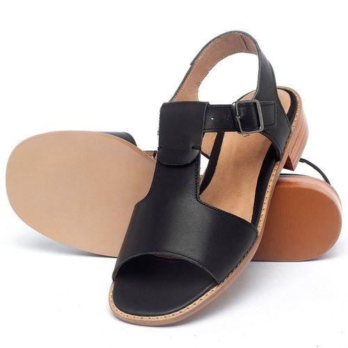 Laranja_Lima_Shoes_Sapatos_Femininos_Sandalia_Laranja_Lima_Shoes_Classic_em_Couro_Preto_-_Codigo_-_9483_2