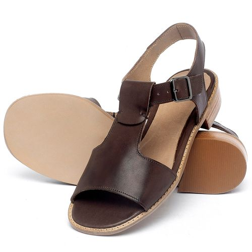 Laranja_Lima_Shoes_Sapatos_Femininos_Sandalia_Laranja_Lima_Shoes_Classic_em_Couro_Marrom_-_Codigo_-_9483_2