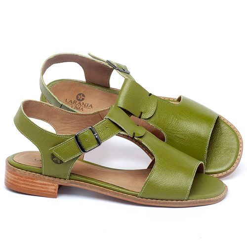 Laranja_Lima_Shoes_Sapatos_Femininos_Sandalia_Laranja_Lima_Shoes_Classic_em_Couro_Verde_-_Codigo_-_9483_1