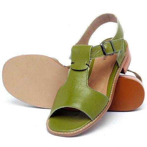 Laranja_Lima_Shoes_Sapatos_Femininos_Sandalia_Laranja_Lima_Shoes_Classic_em_Couro_Verde_-_Codigo_-_9483_2