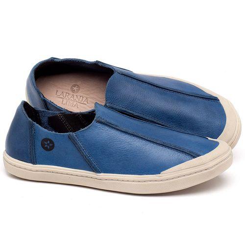 Laranja_Lima_Shoes_Sapatos_Femininos_Tenis_Cano_Baixo_em_Couro_Azul_-_Codigo_-_141148_1