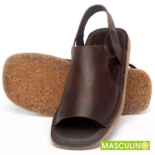 Laranja_Lima_Shoes_Sapatos_Masculinos_Rasteira_em_Couro_Marrom_-_Codigo_-_141178_2
