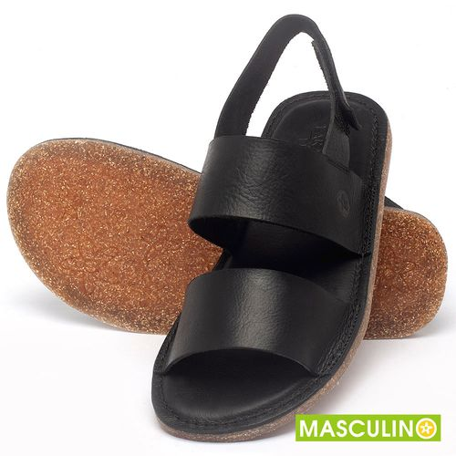 Laranja_Lima_Shoes_Sapatos_Masculinos_Rasteira_em_Couro_Preto_-_Codigo_-_141179_2