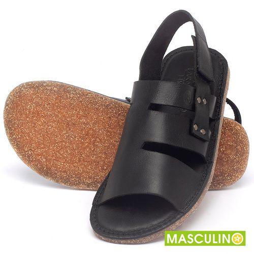 Laranja_Lima_Shoes_Sapatos_Masculinos_Rasteira_em_Couro_Preto_-_Codigo_-_141180_2