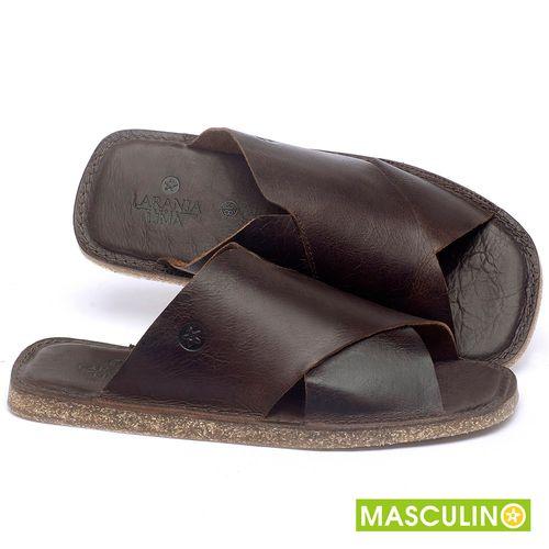 Laranja_Lima_Shoes_Sapatos_Masculinos_Rasteira_em_Couro_Marrom_-_Codigo_-_141181_1