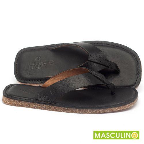 Laranja_Lima_Shoes_Sapatos_Masculinos_Rasteira_em_Couro_Preto_-_Codigo_-_141182_1