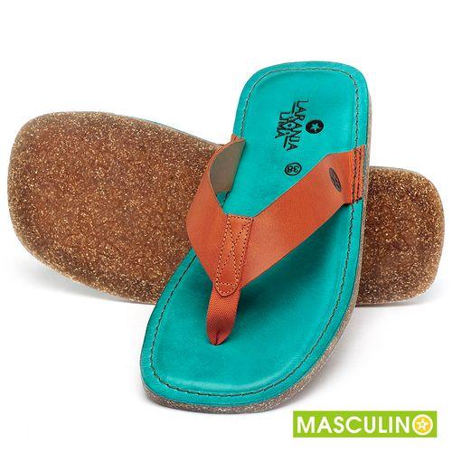 Laranja_Lima_Shoes_Sapatos_Masculinos_Rasteira_em_Couro_Laranja_-_Codigo_-_141182_2