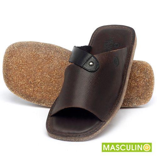 Laranja_Lima_Shoes_Sapatos_Masculinos_Rasteira_em_Couro_Marrom_-_Codigo_-_141183_2