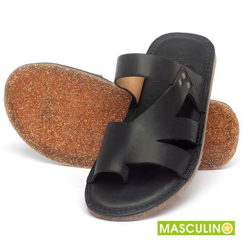 Laranja_Lima_Shoes_Sapatos_Masculinos_Rasteira_em_Couro_Preto_-_Codigo_-_141184_2