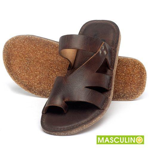 Laranja_Lima_Shoes_Sapatos_Masculinos_Rasteira_em_Couro_Marrom_-_Codigo_-_141184_2