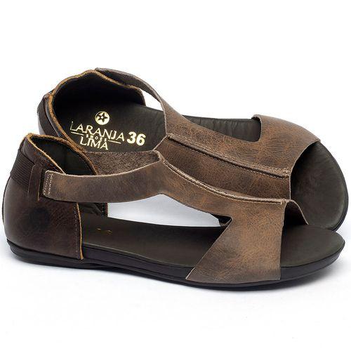 Laranja_Lima_Shoes_Sapatos_Femininos_Sandalia_Rasteira_Flat_em_Couro_Marrom_-_Codigo_-_137306_1