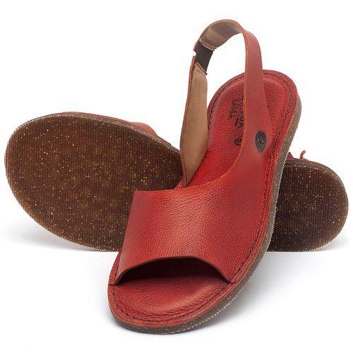 Laranja_Lima_Shoes_Sapatos_Femininos_Sandalia_Rasteira_Flat_em_Couro_Vermelho_-_Codigo_-_141163_2