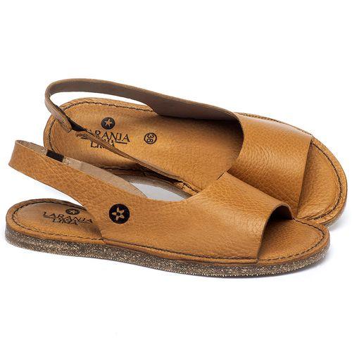 Laranja_Lima_Shoes_Sapatos_Femininos_Sandalia_Rasteira_Flat_em_Couro_Amarelo_-_Codigo_-_141163_1