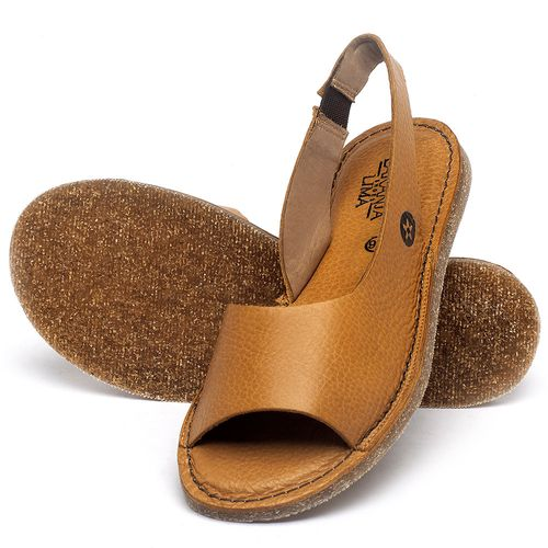 Laranja_Lima_Shoes_Sapatos_Femininos_Sandalia_Rasteira_Flat_em_Couro_Amarelo_-_Codigo_-_141163_2