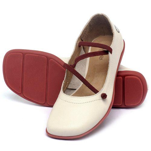Laranja_Lima_Shoes_Sapatos_Femininos_Sapatilha_Bico_Quadrado_em_Couro_Off-White_-_Codigo_-_9471_2