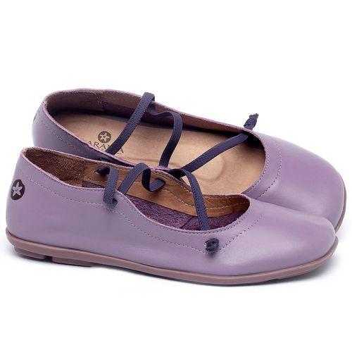 Laranja_Lima_Shoes_Sapatos_Femininos_Sapatilha_Bico_Quadrado_em_Couro_Lilas_-_Codigo_-_9471_1
