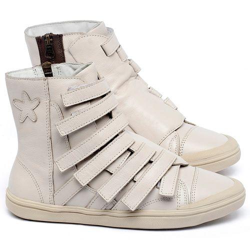 Laranja_Lima_Shoes_Sapatos_Femininos_Tenis_Cano_Alto_em_Couro_Off-White_-_Codigo_-_56226_1