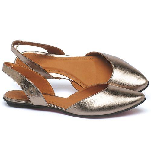Laranja_Lima_Shoes_Sapatos_Femininos_Sapatilha_Bico_Fino_em_Couro_Metalizado_-_Codigo_-_56223_1