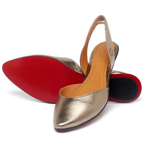 Laranja_Lima_Shoes_Sapatos_Femininos_Sapatilha_Bico_Fino_em_Couro_Metalizado_-_Codigo_-_56223_2