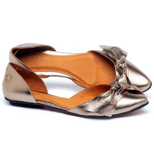 Laranja_Lima_Shoes_Sapatos_Femininos_Sapatilha_Bico_Fino_em_Couro_Metalizado_-_Codigo_-_56222_1