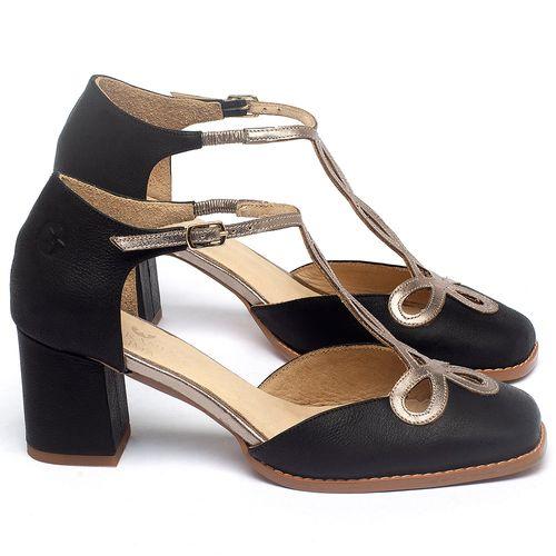Laranja_Lima_Shoes_Sapatos_Femininos_Sandalia_Laranja_Lima_Shoes_Classic_Salto_de_6_cm_em_Couro_Preto_-_Codigo_-_3736_1