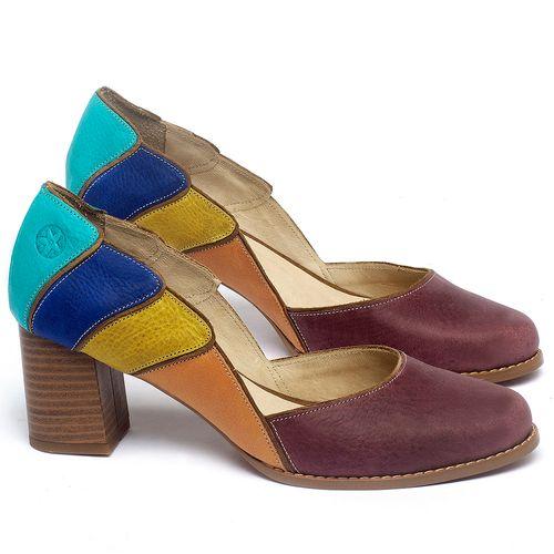 Laranja_Lima_Shoes_Sapatos_Femininos_Scarpin_Salto_Medio_de_6_cm_em_Couro_Multicolor_-_Codigo_-_3738_1