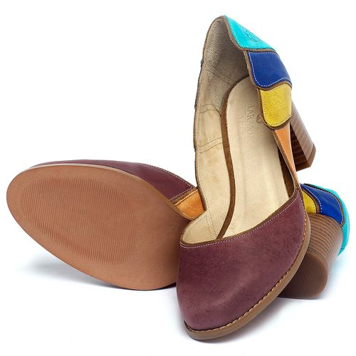 Laranja_Lima_Shoes_Sapatos_Femininos_Scarpin_Salto_Medio_de_6_cm_em_Couro_Multicolor_-_Codigo_-_3738_2