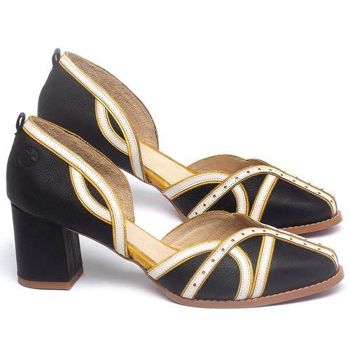 Laranja_Lima_Shoes_Sapatos_Femininos_Scarpin_Salto_Medio_de_6_cm_em_Couro_Multicolor_-_Codigo_-_3742_1