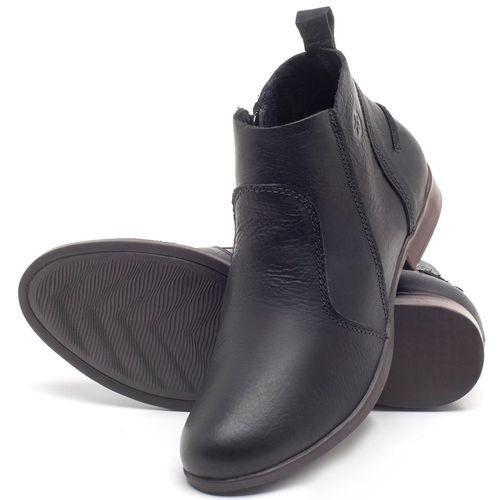 Laranja_Lima_Shoes_Sapatos_Femininos_Bota_Cano_Curto_em_Couro_Preto_-_Codigo_-_137244_2
